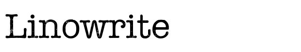 Linowrite