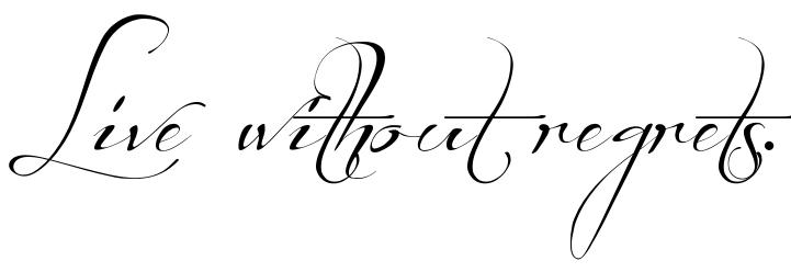 font tattoo online