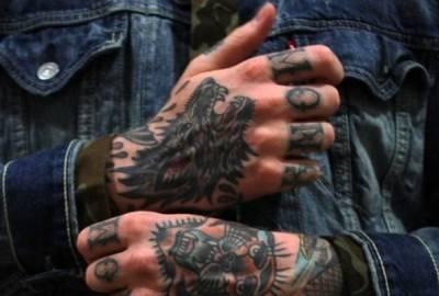 Фото татуировок на кисти руки 14