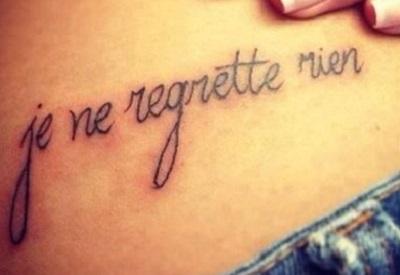 Татуировки с надписями: выберите грамотный перевод